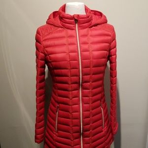 Tommy Hilfiger Natural Down Hooded Packable Jacket
